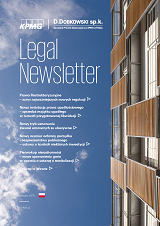 Legal Newsletter - Marzec 2016